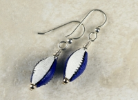 Colts Sterling Silver Earrings
